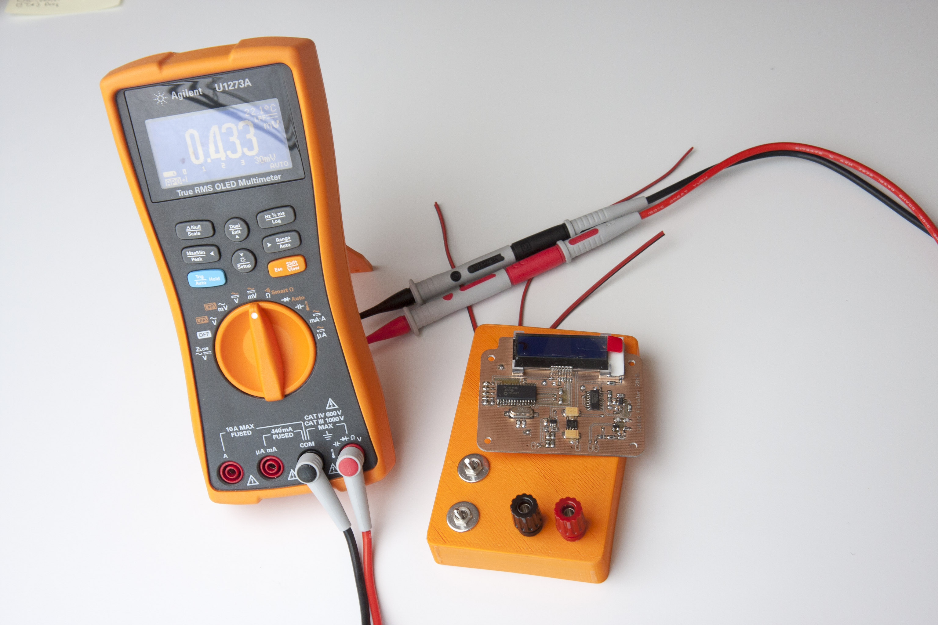 Inductance Meter Soldernerd Circuit And Mg 1223