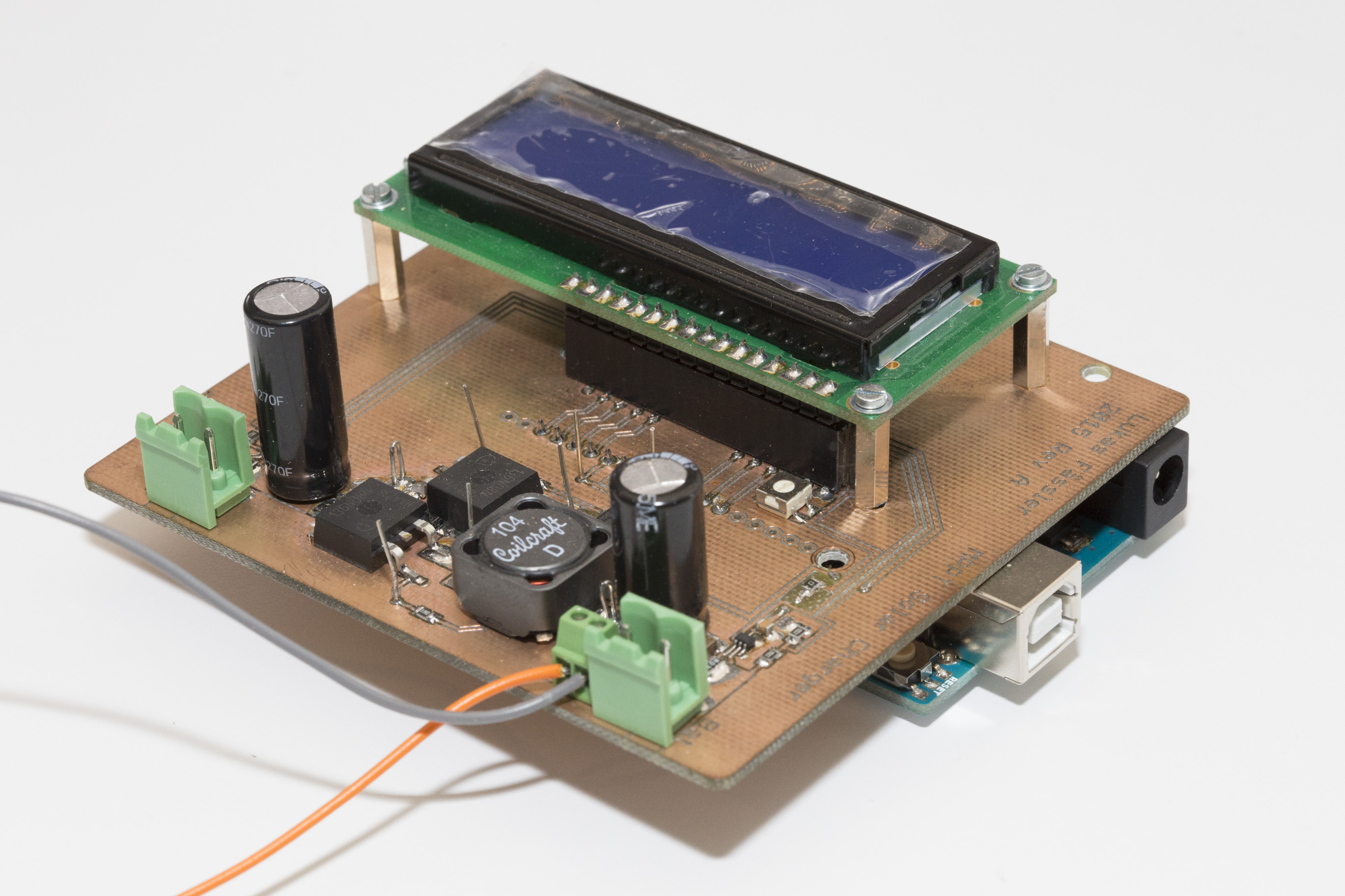 Arduino Mppt Solar Charger Shield Soldernerd