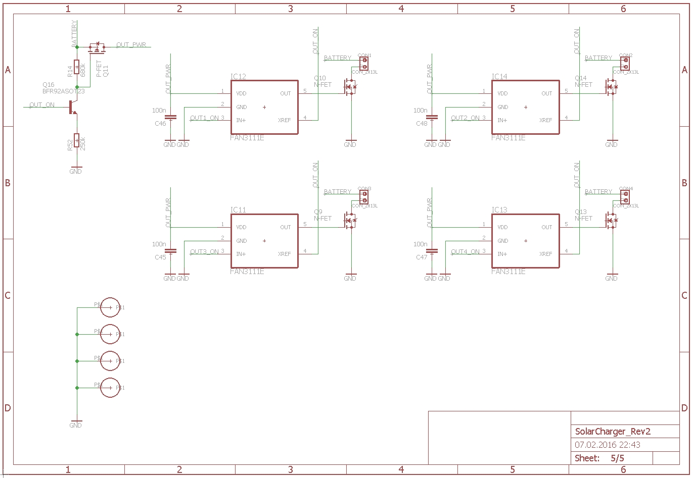 Mppt Solar Charger Design Soldernerd Notes This Is A Simple Circuit That Uses Solarchargerschematic5 Usb Charging Ports