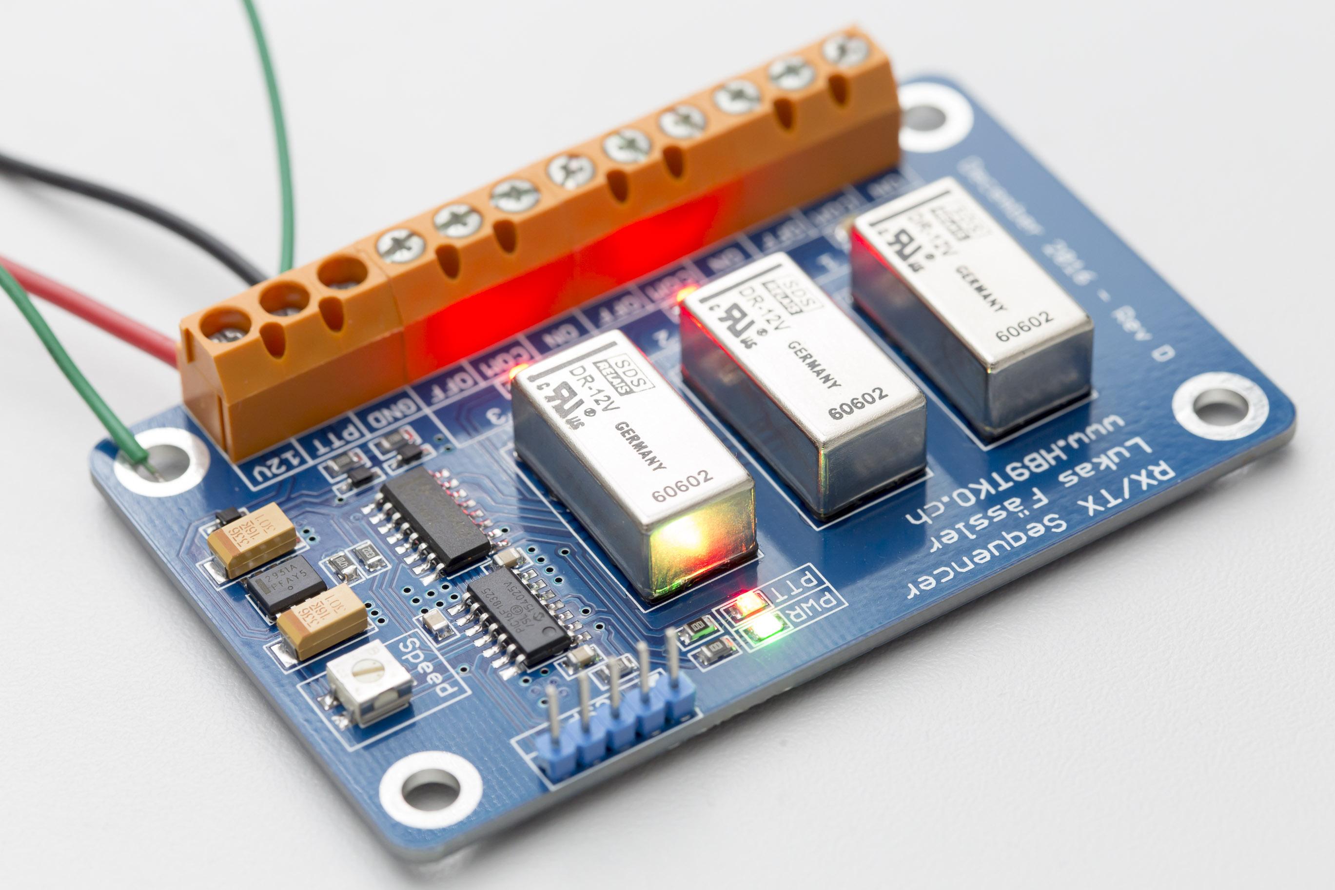 RX/TX Sequencer   soldernerd